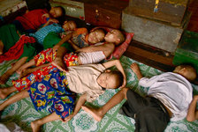 Burma Kloster für Waisenkinder