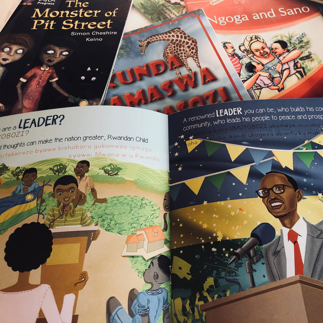 Kinderbücher Ruanda