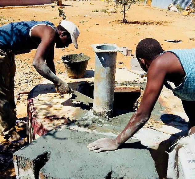 Brunnenbau Hope in Somalia