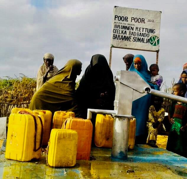 Menschen brauchen Wasser Barawe