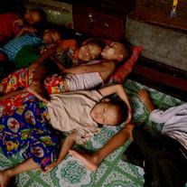 Waisenkinder in Burma