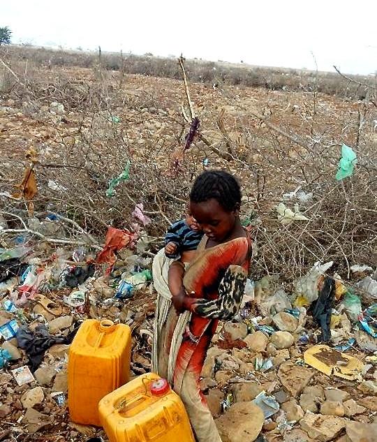 Dürresituation in Somalia