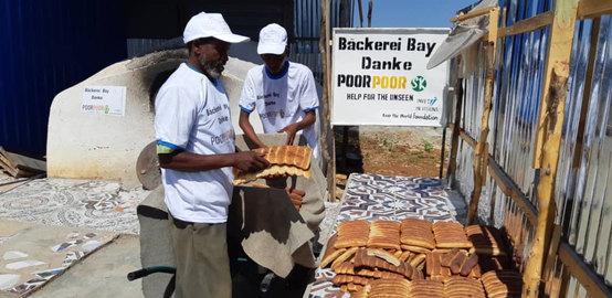 Unsere Bäckerei in Somalia