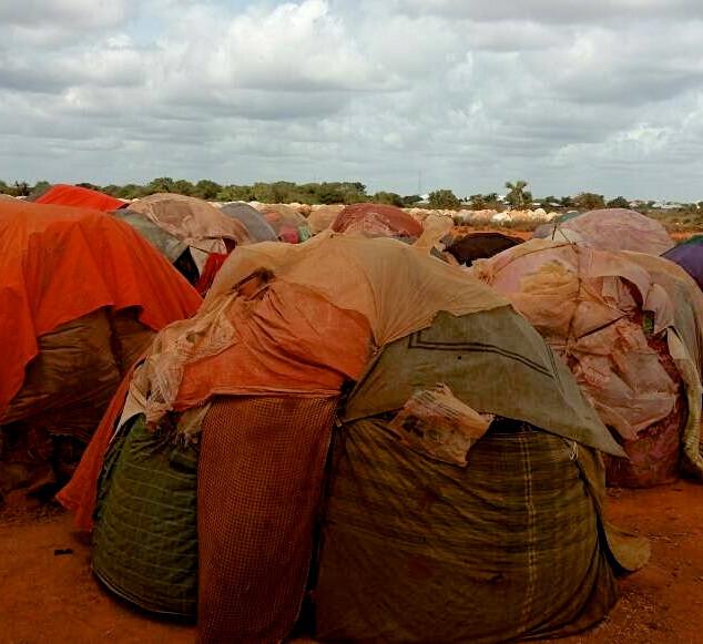 Flüchtlingslager Somalia