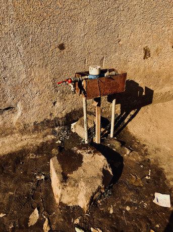 Wasserzustände in Rwanda