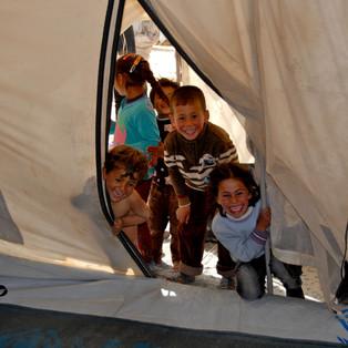 Jordanien Zaatari Camp