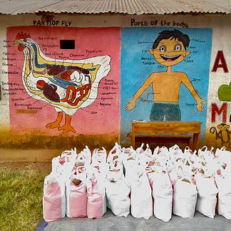Nahrungsmittelverteilung Ost Ruanda