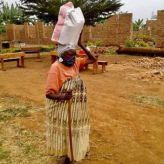 Ost Ruanda 4 Nahrungsmittelverteilung