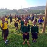 Covid 19 Regeln in Ruanda befolgen