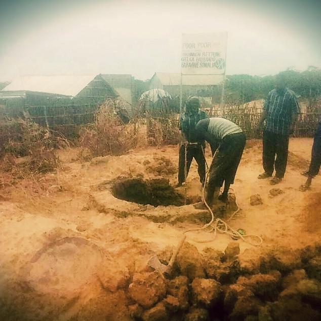 Brunnenbau Barawe Südsomalia