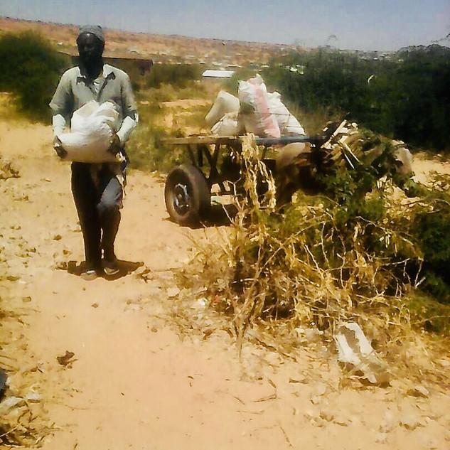 Brunnenbau per Hand Barawe