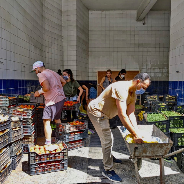 Beirut Katastrophenhilfe