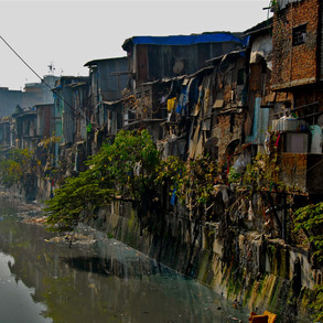 Dharavi Slum Bombay