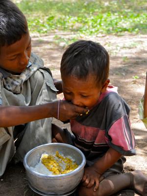 PoorPoor in Bagan