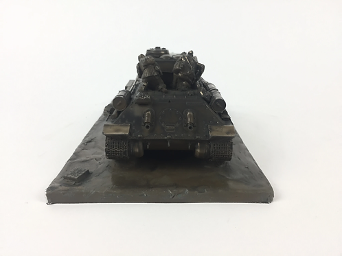 Russian T-34-85 Military Statue Sculpture