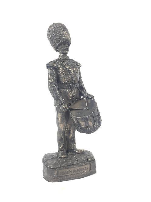 Guardsman Drummer Military Statue Sculpture