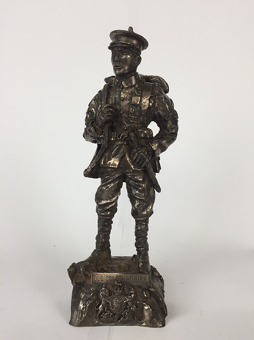 First World War Old Contemptible Statue