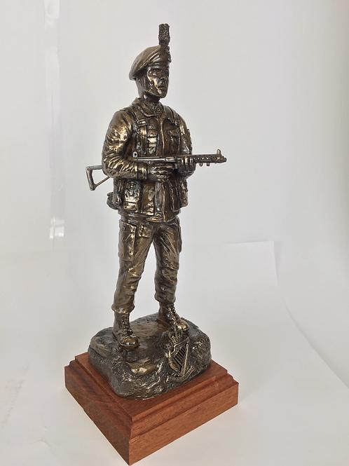 Royal Irish Ranger, Northern Ireland Patrol with Caubeen and SMG