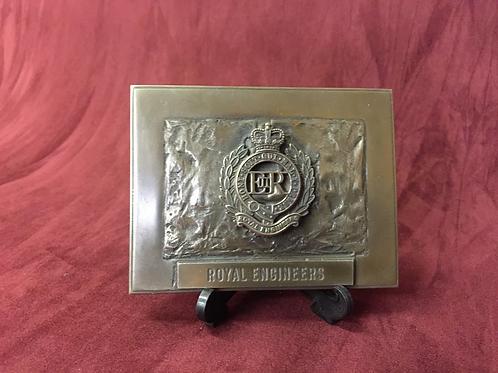 Regimental Plaques.