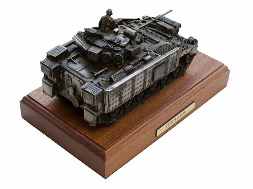 Warrior FV510 Infantry Fighting Vehicle Cold Cast Bronze Statue