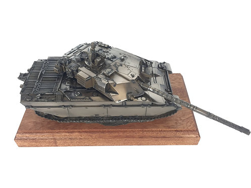 Challenger 1 Main Battle Tank Cold Cast Bronze Statue
