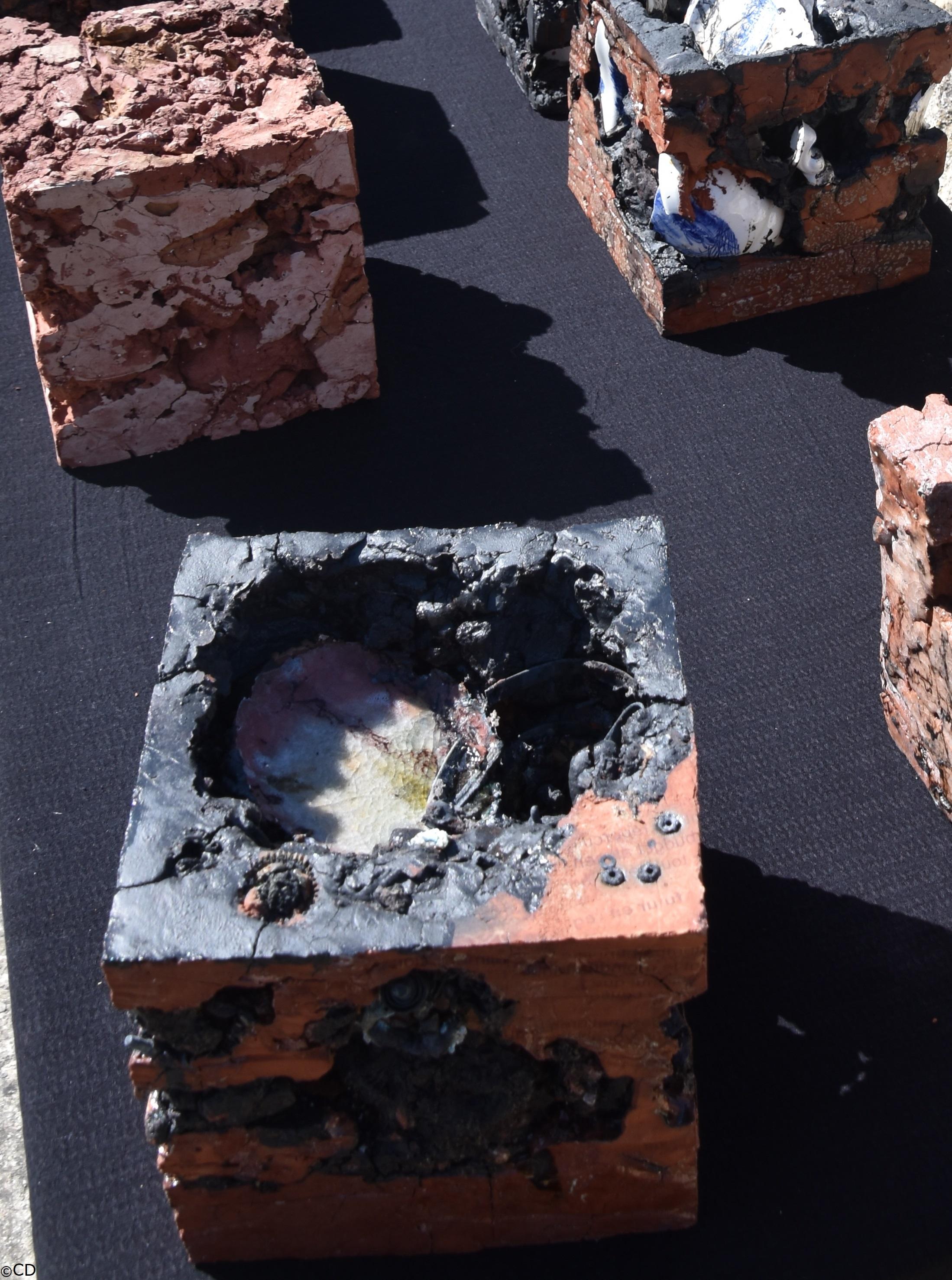 1 cubes terre de labours + fourchette co