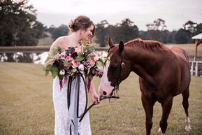 Country Vintage Wedding at The White Magnolia