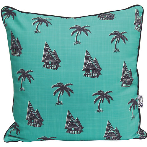 Green Palm Cover Outdoor cushion