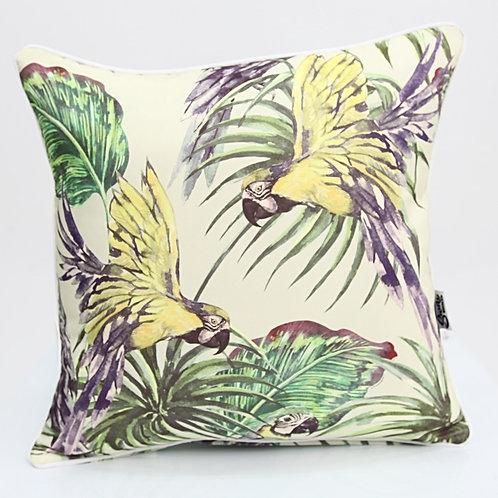 Tropical Bird Cushion
