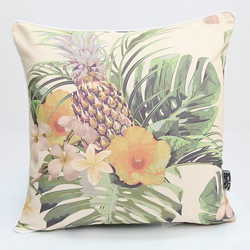 Vintage tropical outdoor cushion