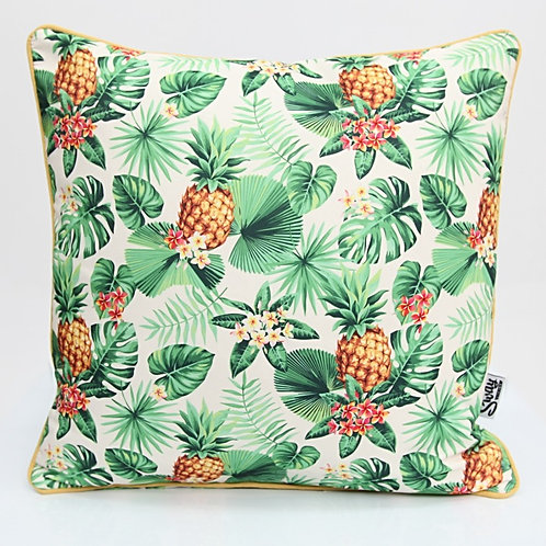 Pineapple palm leaf cushion