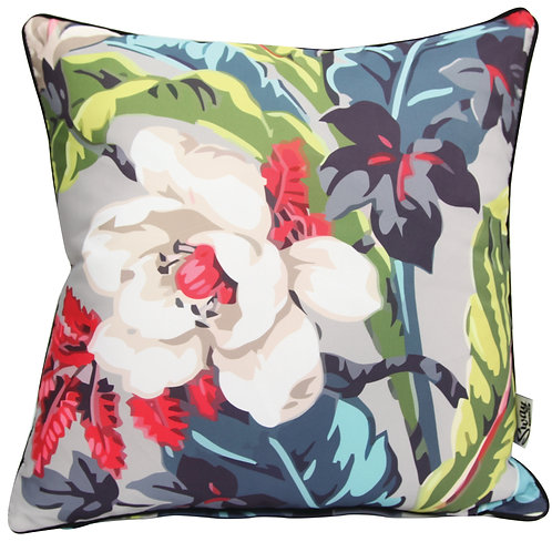 Mid Century Floral Cushion