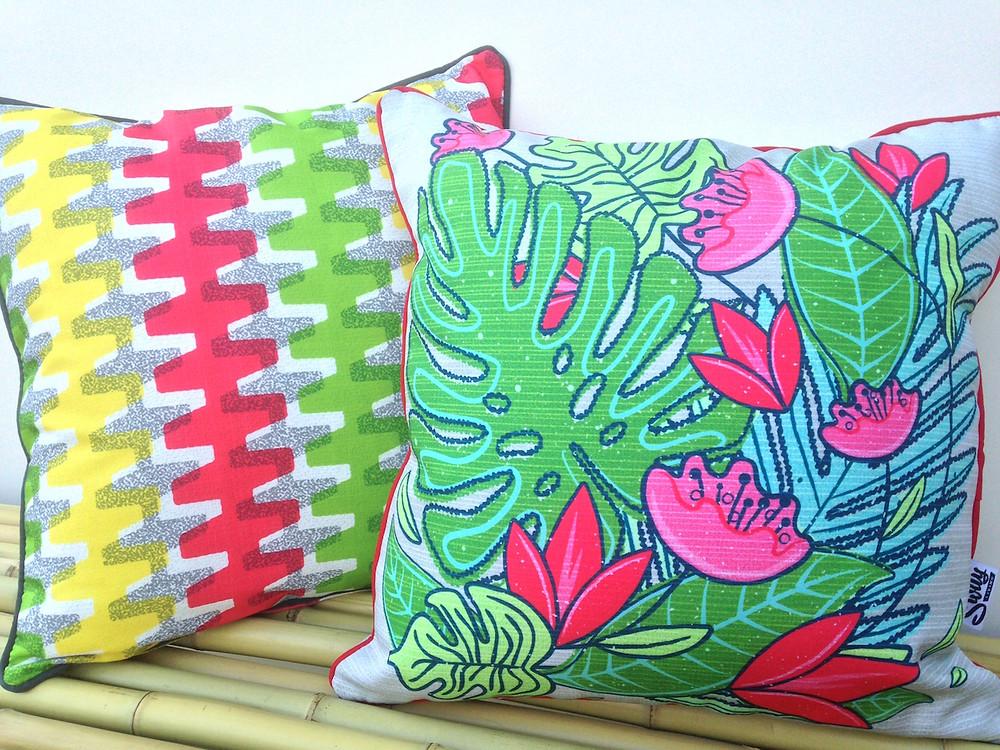 Tropical Tropicana Outdoor Cushion