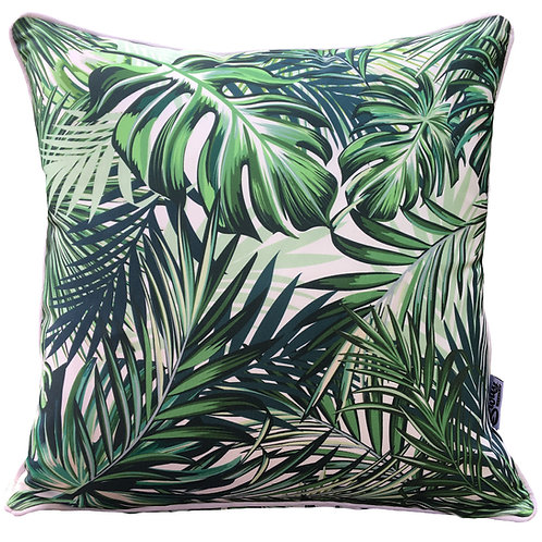 Caribbean square outdoor cushion cover