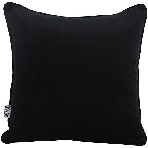 Black Velvet Scatter Cushion