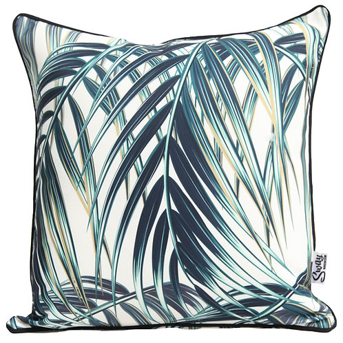 Lush tropical outdoor cushion