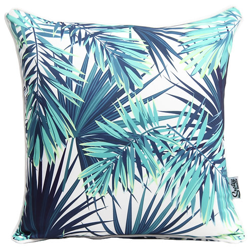 Tropical palm outdoor cushion