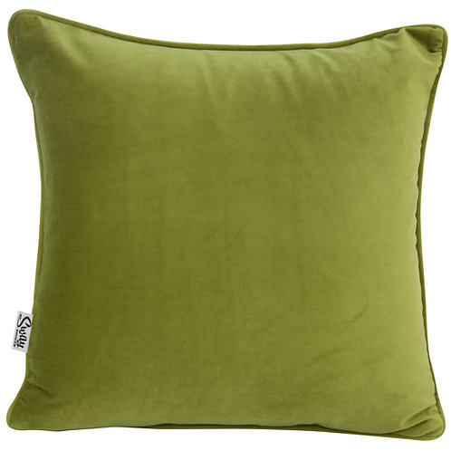 Light Green Velvet Cushion
