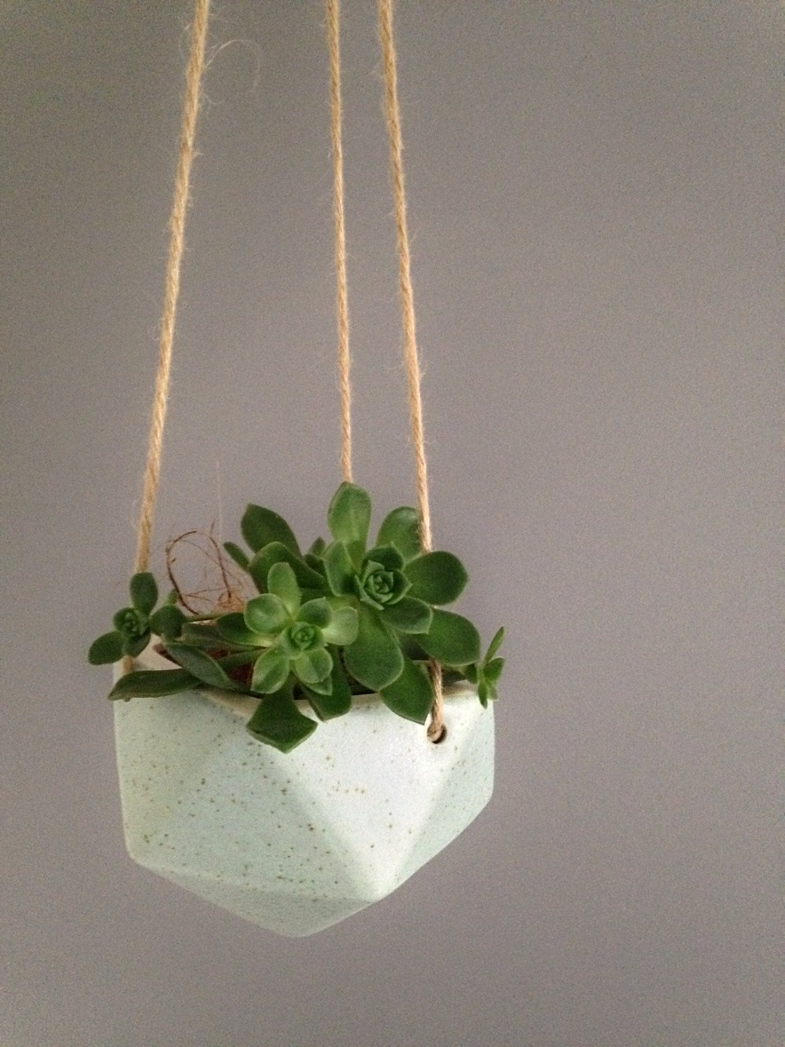 Hanging Planter With Light Blue high top patio table and chairs ...