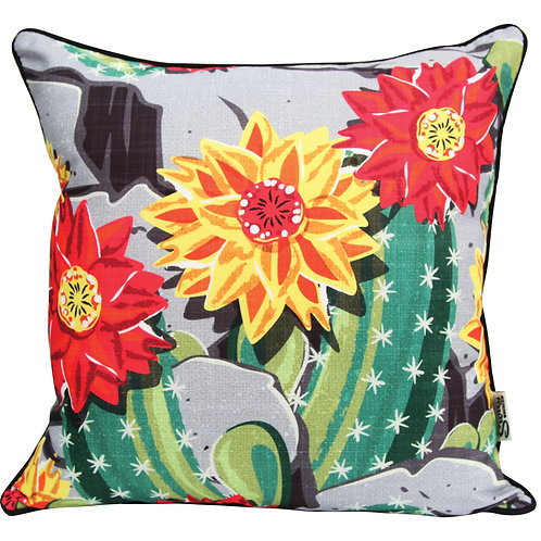Cactus Flower Outdoor Cushion Cover