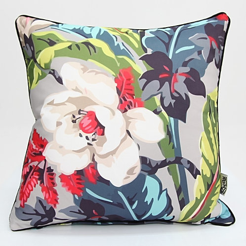 Mid Century Floral Outdoor Cushion Cover