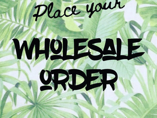 Easy to order Wholesale!