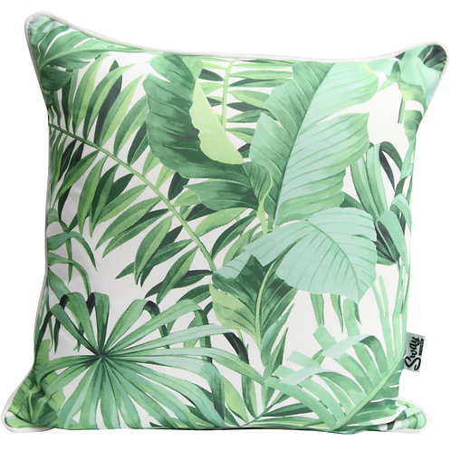 Palm Leaves scatter cushion