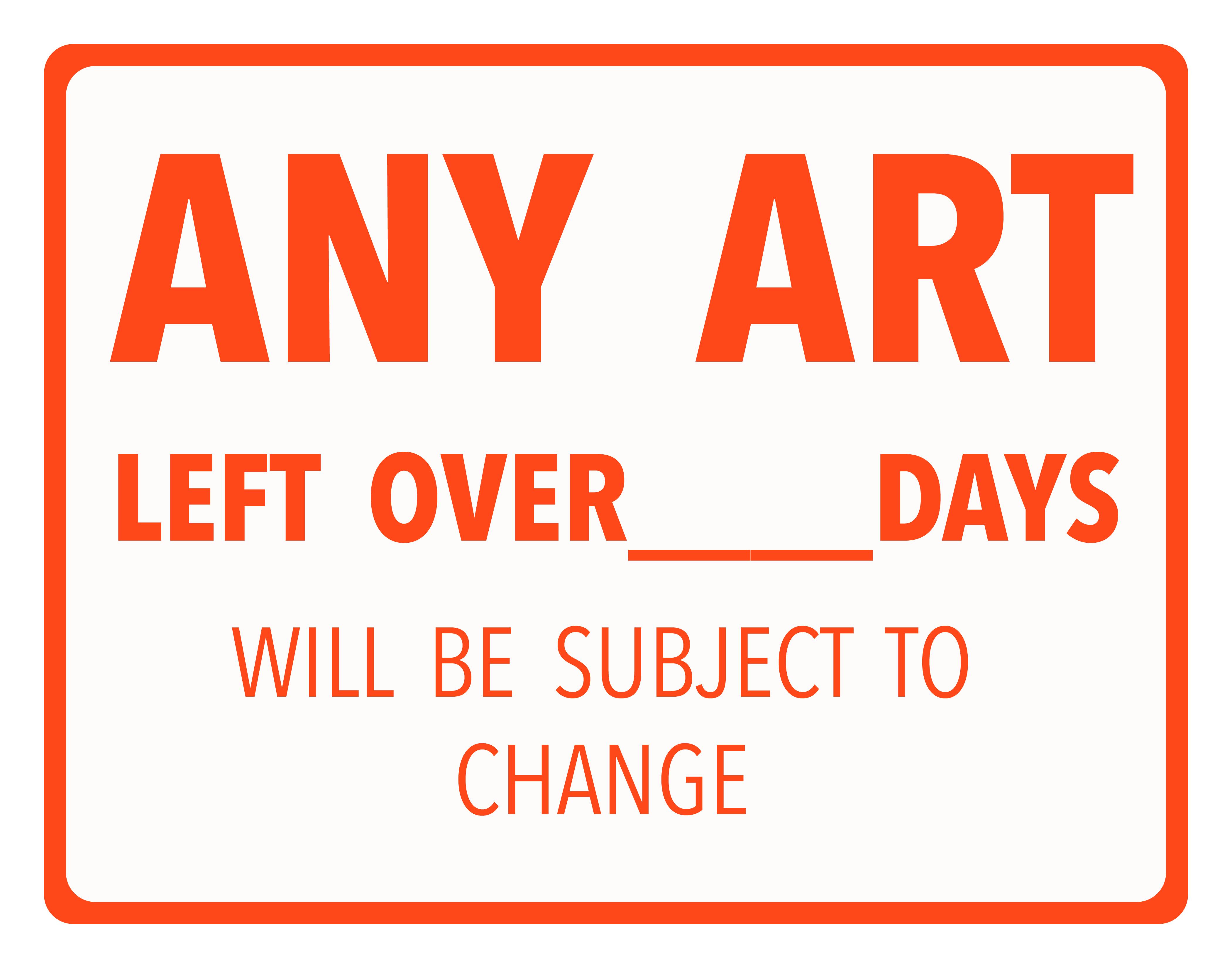 Any Art Left