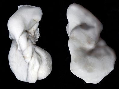 carved stone, alabaster