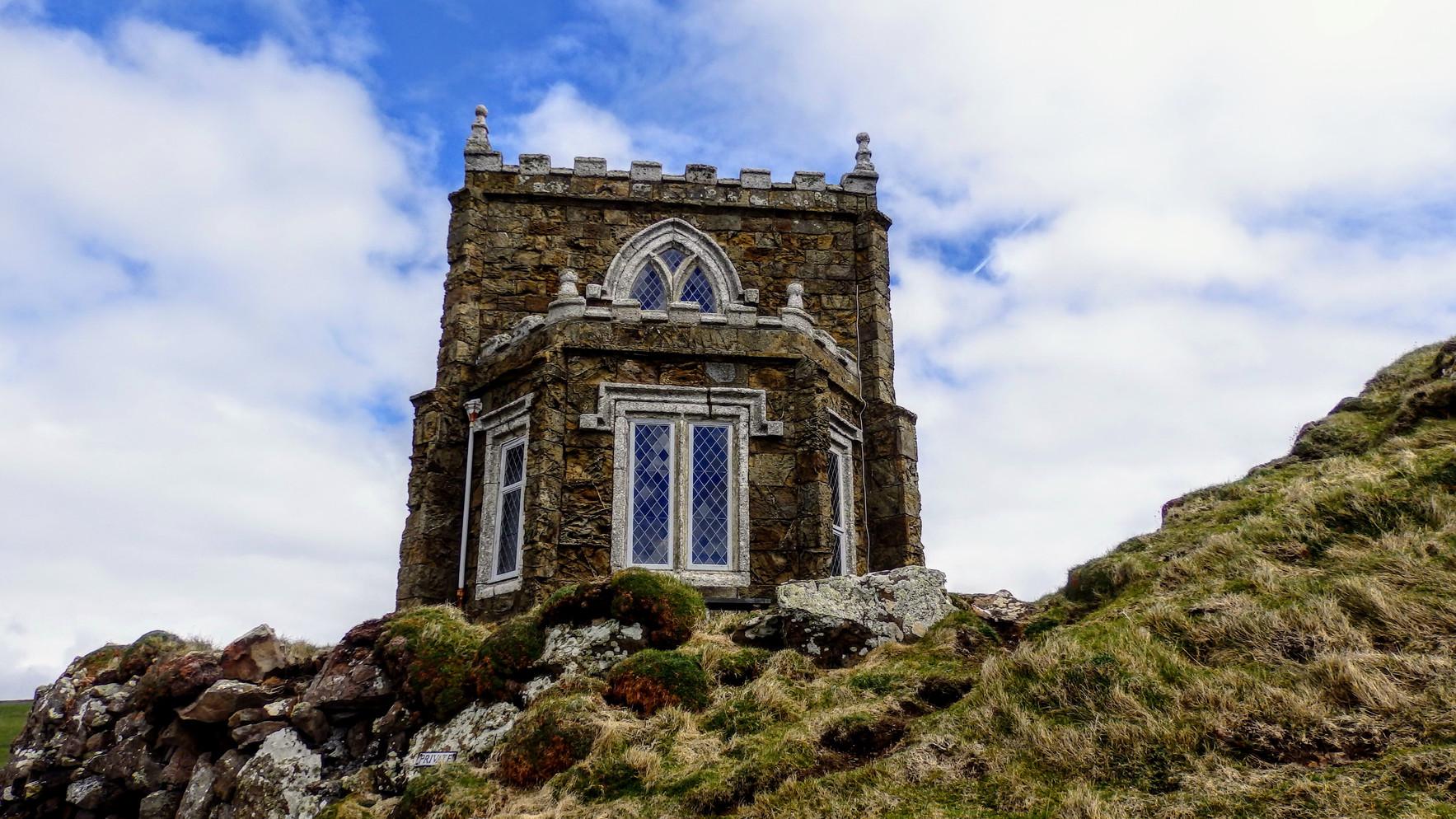 Doyden castle, Cornwall