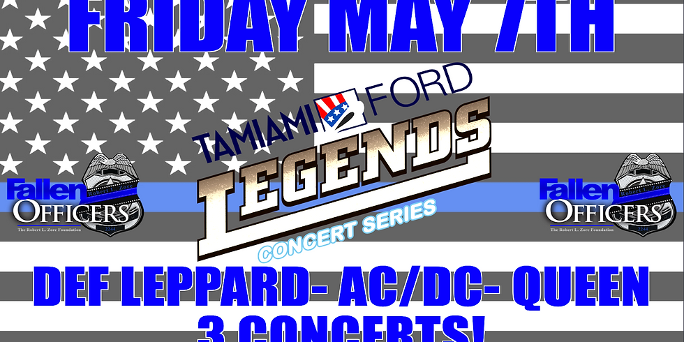 DEF LEPPARD- AC/DC & QUEEN MAY 7TH