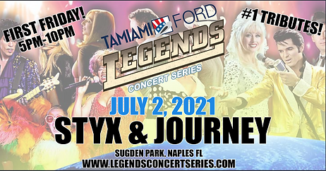 Tamiami Ford legends concert series, the
