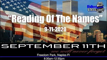 reading of the names 9-11, September 11