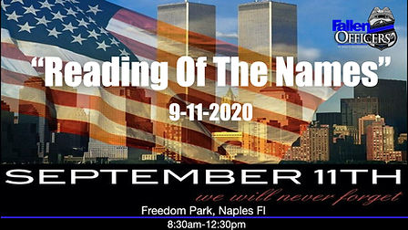reading of the names 9-11, September 11